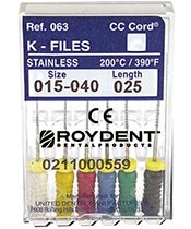 Roydent Dental Products Sales and Promotios: Purchase 5 packs of files get 3 packs FREE!
