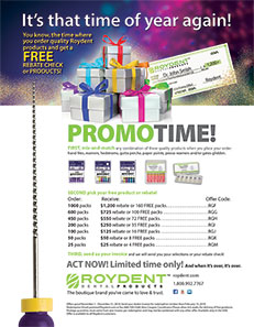 Roydent Dental Products: VIP Offers