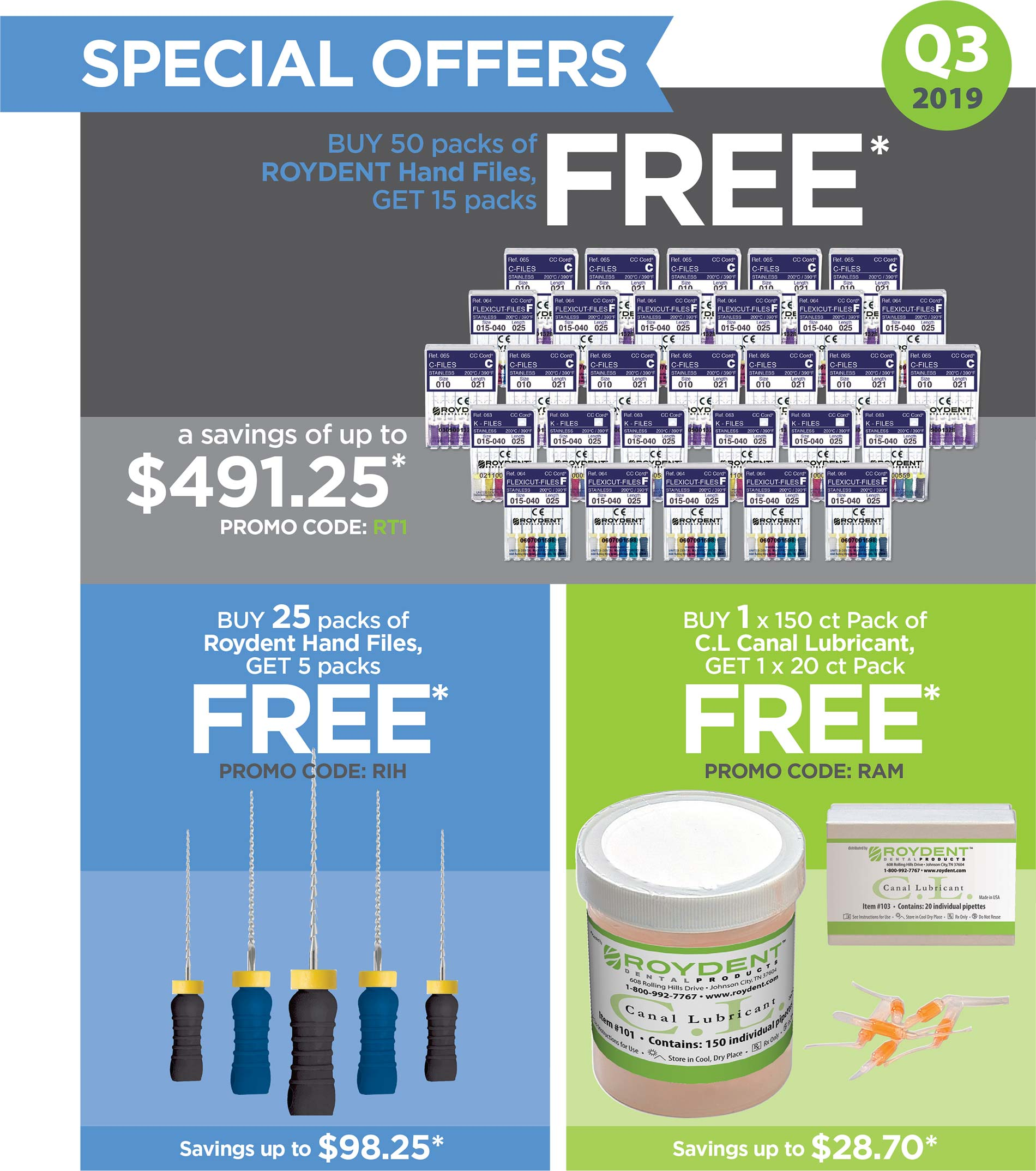 Roydent Dental Products: Quarterly Promotion